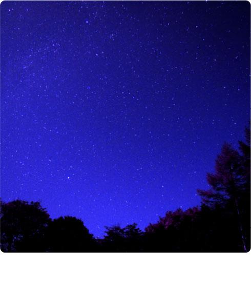 満天の星空イメージ