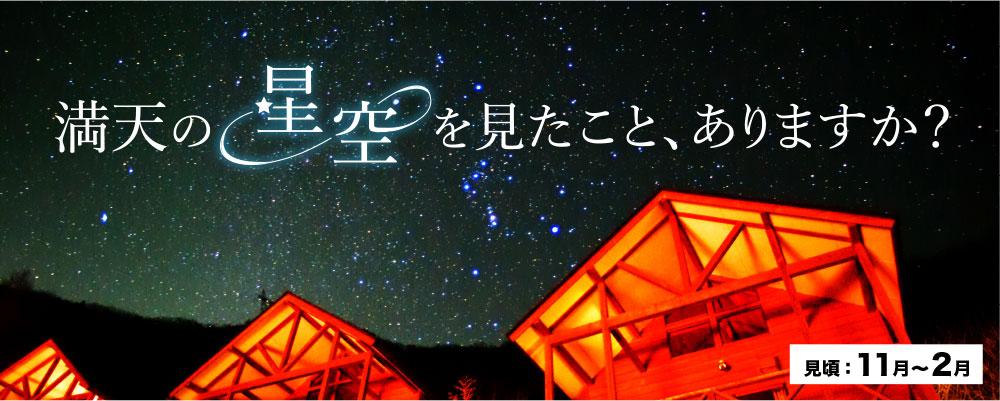 上野村の満天の星空