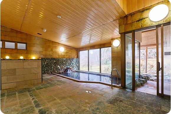 大浴場(塩ノ沢温泉)