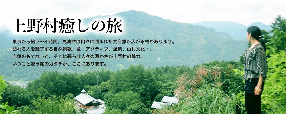 上野村の旅 東京から約2?3時間。見渡せば山々に囲まれた大自然が広がる村があります。