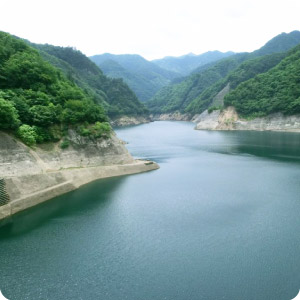 奥神流湖(上野ダム)