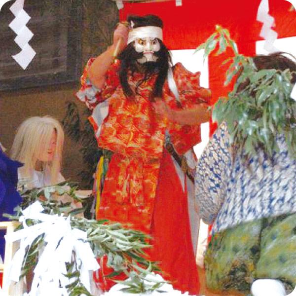 上野村集落のお祭り